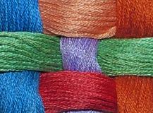 Lanas coloridas fotos de archivo libres de regalías