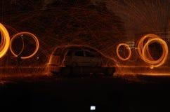 Lanas de acero Foto de archivo libre de regalías