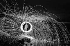 Lanas de acero Fotografía de archivo