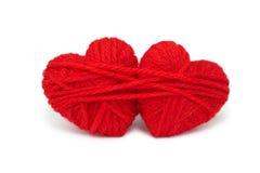 Lanas hearts-18 Fotografía de archivo libre de regalías