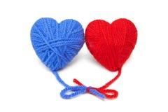 Lanas hearts-21 Fotografía de archivo libre de regalías