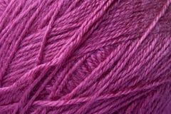 Lanas púrpuras fotos de archivo