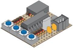 lanc регулятора Стоковое Изображение RF