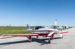 Lancair 320 Vliegtuigen stock afbeelding