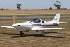 Lancair 235 zestawów budował pojedynczego silnika lekkiego samolot VH-PEX Zdjęcie Stock