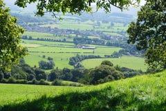 Lancashire乡下 免版税图库摄影