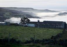 Lancashire причаливает на зоре Стоковая Фотография