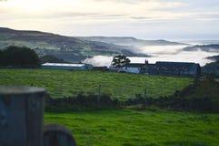 Lancashire amarra en el amanecer Imagen de archivo