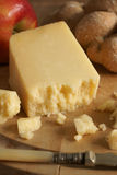 Lancashire cheese. Lancashire a traditional English cheese from the county of Lancashire stock photo