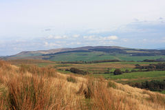 Lancashire countryside. Looking across the moors of Lancashire Royalty Free Stock Photo