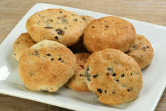 Lancashire eccles cakes Royalty Free Stock Images