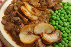 Lancashire Hotpot Meal Royalty Free Stock Photos