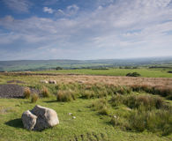 Lancashire Landscape. Landscape of the Lancashire moors, England Royalty Free Stock Photos