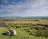 Lancashire Landscape. Landscape of the Lancashire moors, England royalty free stock photos