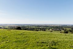 Lancashire occidental regardant vers la côte Photo stock