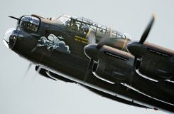 Lancaster BBMF Royalty Free Stock Photo
