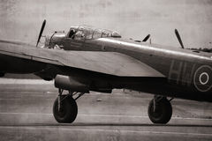 Lancaster Bomber Royalty Free Stock Photo