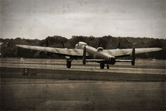 Lancaster Bomber royalty free stock photography