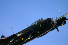 Lancaster bomber Royalty Free Stock Images