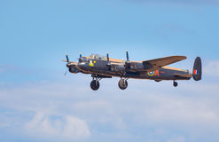 Lancaster Bomber Royalty Free Stock Image