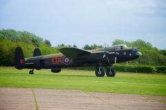 Lancaster Bomber Just Jane NX611 Stock Photo