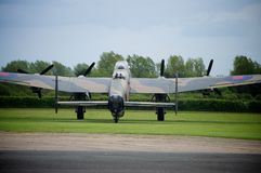 Lancaster Bomber Just Jane NX611 Stock Image