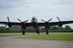 Lancaster Bomber Just Jane NX611 Stock Photography