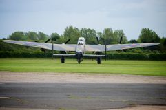 Lancaster Bomber Just Jane NX611 Royalty Free Stock Photo