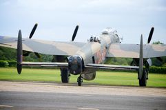 Lancaster Bomber Just Jane Stock Image