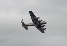 Lancaster Bomber plane Royalty Free Stock Images