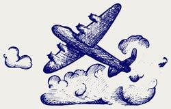 Lancaster bombowiec Obraz Stock