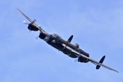 Lancaster bombplan Royaltyfri Bild