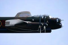 Lancaster bombplan Arkivbilder