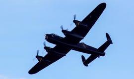 Lancaster bombplan Royaltyfri Foto