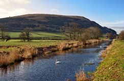 Lancaster Canal Royalty Free Stock Photography