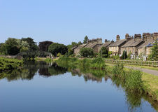Lancaster Canal by Aldcliffe Road, Lancaster Royalty Free Stock Photos