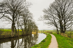 Lancaster canal Royalty Free Stock Image