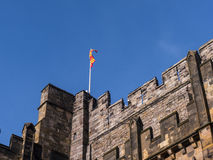 Lancaster Castle and the former Prison in England is in the Centre of the City Royalty Free Stock Photography