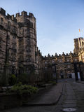 Lancaster Castle and the former Prison in England is in the Centre of the City Stock Images