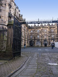 Lancaster Castle and the former Prison in England is in the Centre of the City Royalty Free Stock Images