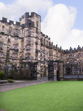 Lancaster Castle and the former Prison in England is in the Centre of the City Royalty Free Stock Photo
