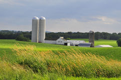 Lancaster County farm Royalty Free Stock Photo