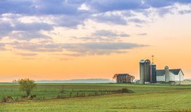Lancaster County Farm Royalty Free Stock Images