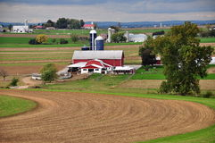 Lancaster County, PA: Amish Farm Stock Photography