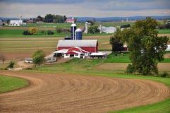 Lancaster County, PA: Amish Farm Stock Photography