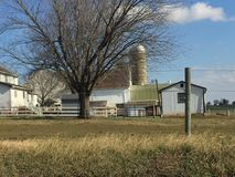 Lancaster County Pennsylvania. Country Side Beauty Stock Photo