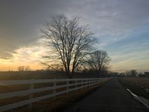 Lancaster County Pennsylvania. Country Side Beauty Royalty Free Stock Photography