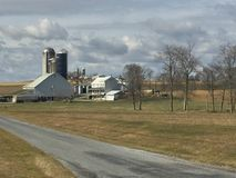 Lancaster County Pennsylvania. Country Side Beauty Stock Photography