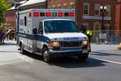 Lancaster EMS ambulans Royaltyfria Bilder