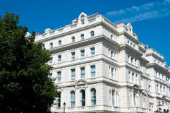 Lancaster gate building Royalty Free Stock Photos